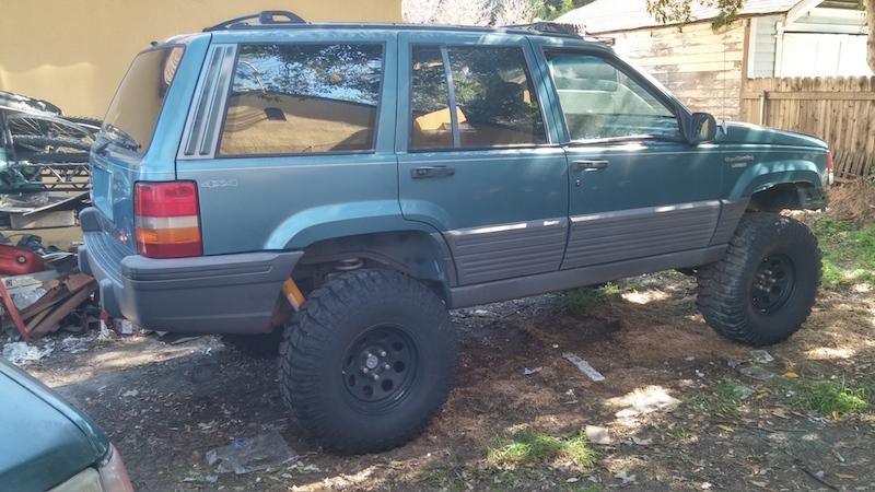 98 Grand Cherokee on 40